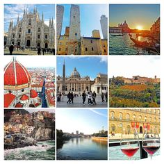 Na Janelinha para ver tudo: Ciao, Itália! Bienvenue a Paris!