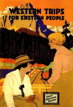 ๑ Nineteen Fourteen ๑ historical happenings, fashion, art & style from a century ago - 1914 travel poster