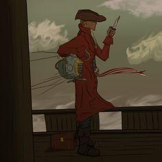 Fallout 4 John Hancock by rainisaur