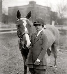 Vintage equestrian photos