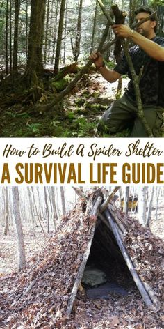 How to Build A Spider Shelter | A Survival Life Guide