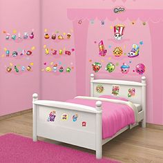 Walltastic Shopkins Room Decor Wall Sticker Kit ** Learn more by visiting the image link.
