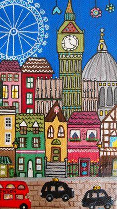 Me voy a montar en la noria de Londres,que ilusión!!!