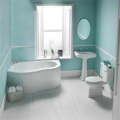 contemporary blue bathroom vanity design set white corner bathub washstand and closet: choosing the best corner bathroom vanity for your per. Corner Bathroom Vanity, Aqua Bathroom, Bathroom Vanity Designs, Simple Bathroom, Bathroom Interior, Family Bathroom, Bathroom Wall, Bathroom Ideas, Bad Inspiration