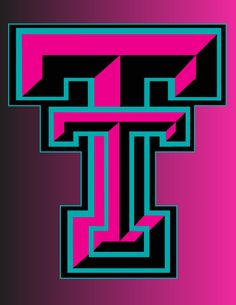 pink and blue texas tech
