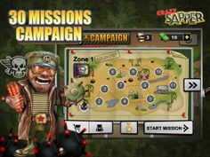 Combining the classic minesweeper gameplay with new captivating elements in Crazy Sapper delivers hours of fun and challenge. Game Development Company, It Game, 9 And 10, Challenges, Games, Classic, Fun, Tech, Derby