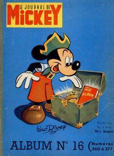 Couverture de (Recueil) Mickey (Le Journal de) -16- Album n°16 (n°360 à 377)