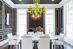 contemporary dining room by JONATHAN CALVERT | Interiors Photographer