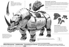 Artist Supports Anti-Poaching Campaign Through a Series of Animal Inspired Robot Illustrations Robot Illustration, Illustrations, Animal Robot, Cyberpunk, Character Concept, Character Design, 3d Character, Science Fiction, Robots Drawing