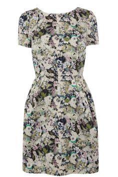 Dresses   Multi Hyper Floral Dress   Oasis