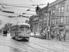 streetcars | Riding the St. Clair and Superior streetcars: Cleveland Remembers ...