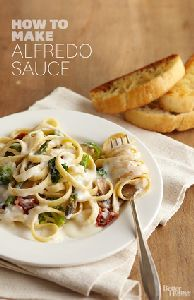 Simple Alfredo sauce plus other uses.