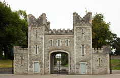 The Front Tower of Bellingham Castle that marks the entrance of these stunning grounds