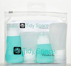 84934ebaf83c Amazon.com   Tidy Space Products Leak Proof Travel Bottles   Beauty