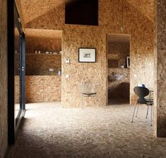 OSB as wall covering
