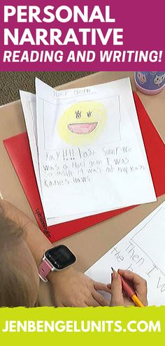 """""""My students are loving the personal narrative writing units of study!! I can't believe their enthusiasm for writing and most students are writing across several pages. Even my struggling writers are connecting and working hard! I can't wait for their finished, published pieces"""" -Jennifer, Out of This World Literacy"""