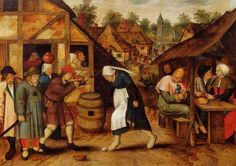 The Egg Dance - Pieter Brueghel the Younger - The Athenaeum