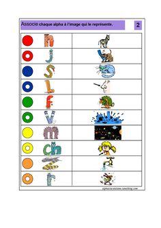 LOGICO ALPHAS (LaCatalane) (1).pdf - Fichiers partagés - Acrobat.com Adobe Acrobat, Literacy, Map, Alphabet, Sons, Alpha Letter, Letter Games, Kindergarten Classroom, Location Map