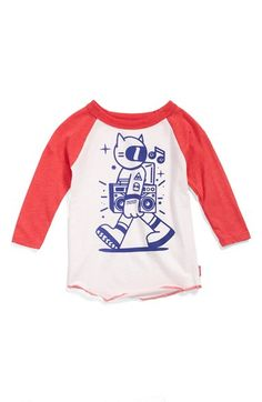 PREFRESH+'Space+Cat'+Raglan+Sleeve+T-Shirt+(Baby+Boys)+(Online+Exclusive)+available+at+#Nordstrom