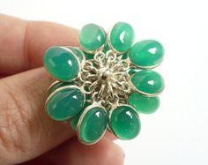 Sea of Green by Lana Thibeault on Etsy