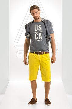 yellow shorts - casual shorts - shorts - men - River Island ...