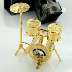 Kleines Schlagzeug mit Glas-Steinen accessorize24-70116