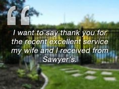 Developers, commercial property owners and administrators rely on Sawyer's for responsive and comprehensive service, every season of the year.    Sawyer's Tree Services and Landscape Management is Saskatchewan's most trusted commercial and residential landscaping and tree removal company. Learn more at www.sawyers.ca