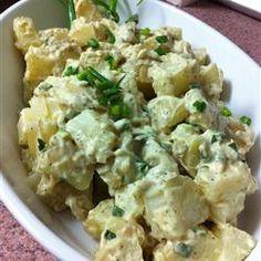 Warm Dijon Potato Salad Allrecipes.com