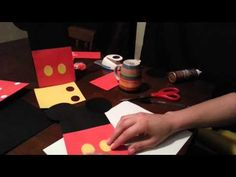 ▶ DIY Minnie and Mickey Mouse Candy Bag - YouTube