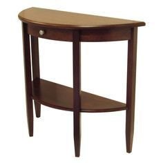 Concord Walnut (Brown) Console Table