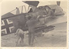Foto Luftwaffe Flugzeug FW 190 A 2./Sch.G 1 Flugzeugführer Frühjahr/Sommer 1943# | eBay
