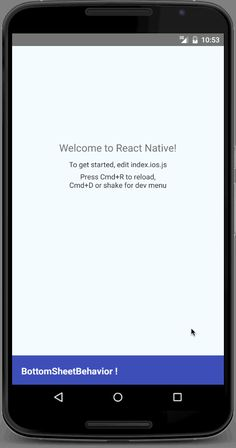 react-native-bottomsheet-behavior