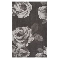 The Emily & Meritt Rose Rug #pbteen