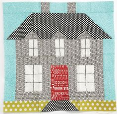 Sweetwater's house quilt block xxx