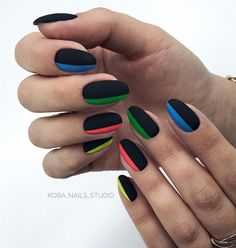 [New] The 10 Best Hairstyles Today (with Pictures) Hot Nails, Swag Nails, Hair And Nails, Nails Studio, French Tip Nail Art, Multicolored Nails, Chameleon Nails, Exotic Nails, Summer Toe Nails