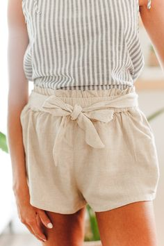 Only You Oat Shorts