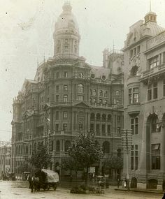 Federal Coffee Palace / Hotel at 589 Collins St, Melbourne. via SLV