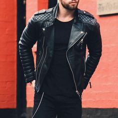 43 Mens Leather Jacket To Upgrade Your Style Best Leather Jackets, Men's Leather Jacket, Leather Men, Black Leather, Black Bolero Jacket, Men's Jacket, Superdry Jackets, Fashion Network, Casual Outfits