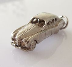 Silver Vintage Car Charm Opens by TrueVintageCharms on Etsy