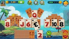 World of Solitaire is a Free Android Card Puzzle Mobile Game tha is more challenging than Solitaire more fun than Spider Solitaire and more exciting than FreeCell Solitaire
