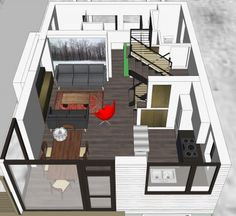 A Smallish House in Massachusetts | Vermont Architect - Robert Swinburne