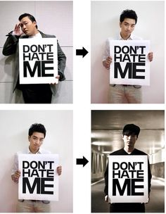 Don't Hate Me. YG Line. PSY-VICTORY-TABLO