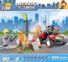 Strażacki quad w akcji | Fire Quad Action