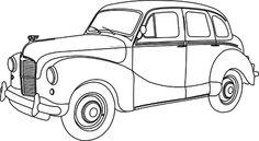 Beyond the Fringe: freebies Truck Coloring Pages, Colouring Pages, Coloring Books, Vintage Trucks, Old Trucks, Car Drawings, Car Painting, Digi Stamps, Adult Coloring