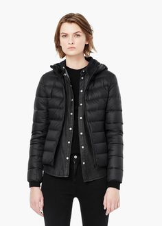 Quilted feather coat - Coats for Woman | MNG