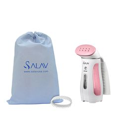 Look at this Pink Handheld Garment Steamer & Two-Piece Accessory Pack on #zulily today!