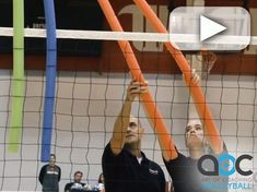 Watch as Coach Paco Labrador (Wittenberg University) explains and players demonstrate this vision hitting drill.