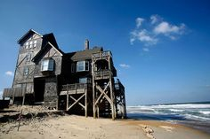 The house from the Nights on Rodanthe (NC)