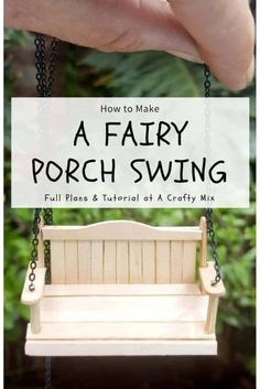How to Make a Clock Fairy Garden and Porch Swing : The cutest little fairy garden inside a clock. Includes full plans for making the porch swing and the miniature topiary trees Fairy Garden Furniture, Fairy Garden Houses, Gnome Garden, Make A Clock, Porche, Ideias Diy, Fairy Garden Accessories, Garden Crafts, Garden Ideas
