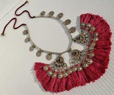 Banjara coin and tassel necklace